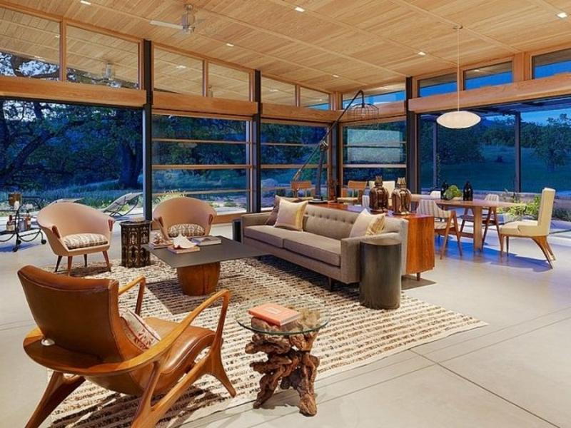 herforragende Gestaltung des Wohnzimmers