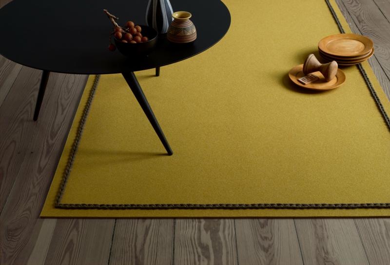 Jab Teppiche gelb