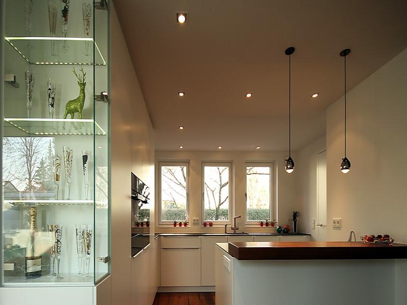 zwei lichtarten in der küchenbeleuchtung