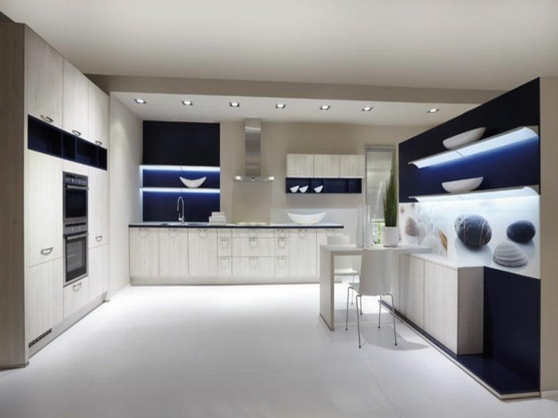 eine kosmische küchenbeleuchtung