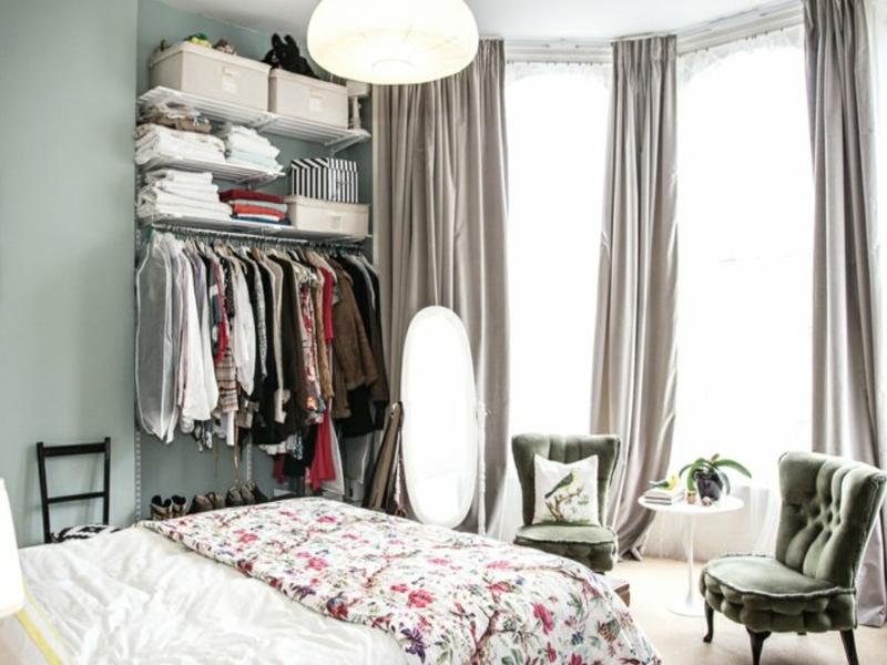 22 Schlafzimmer Einrichten Ohne Kleiderschrank Bilder ...