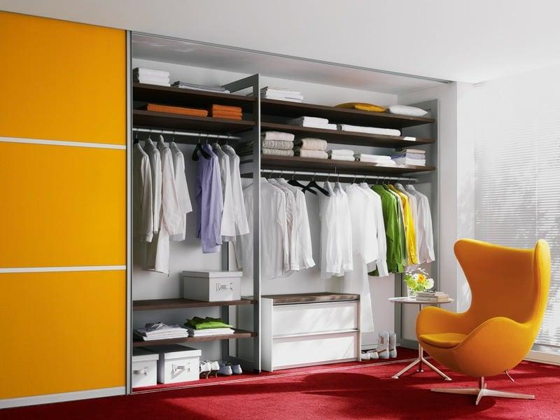 kleiderschrank in orange plannen