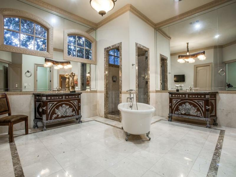 viel luxus im vintage bad
