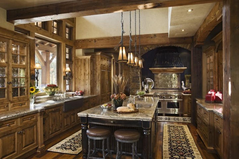 wohnideen für möbel in der provence küche