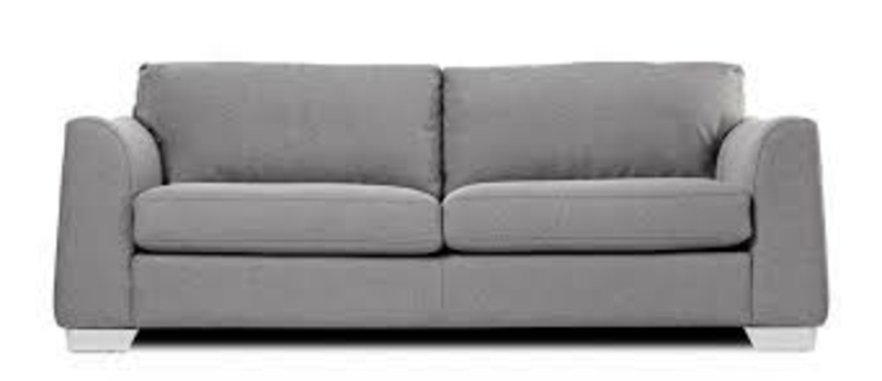 massives sofa in Grau