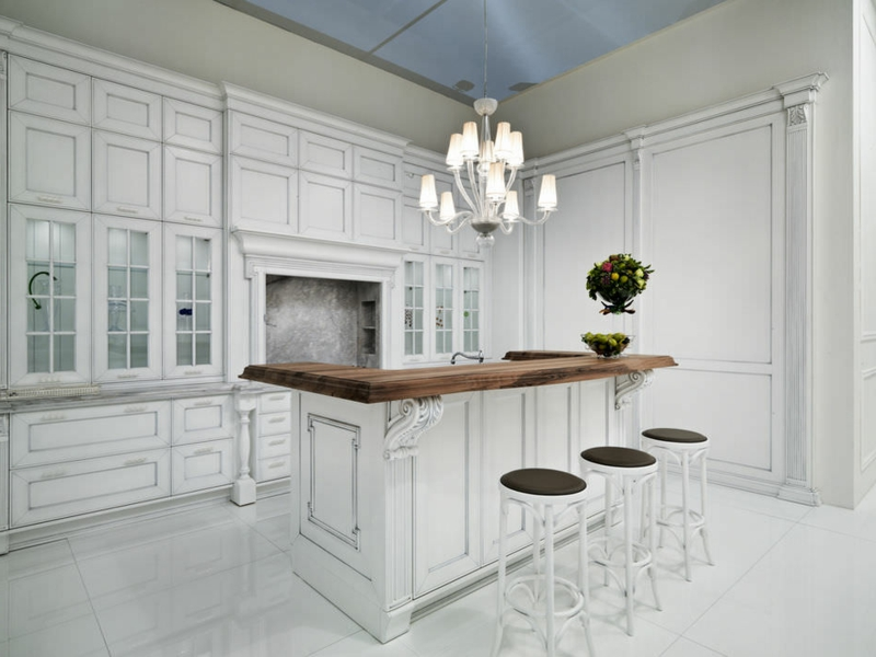 minimalismus in der provence küche