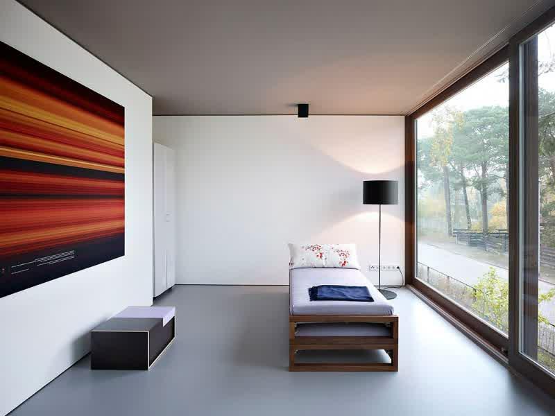 minimalismus und ein großes bild