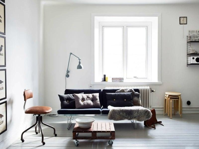 Ideen Fur Wandfarben  25 Ideen für moderne Wandfarben in Weißtönen