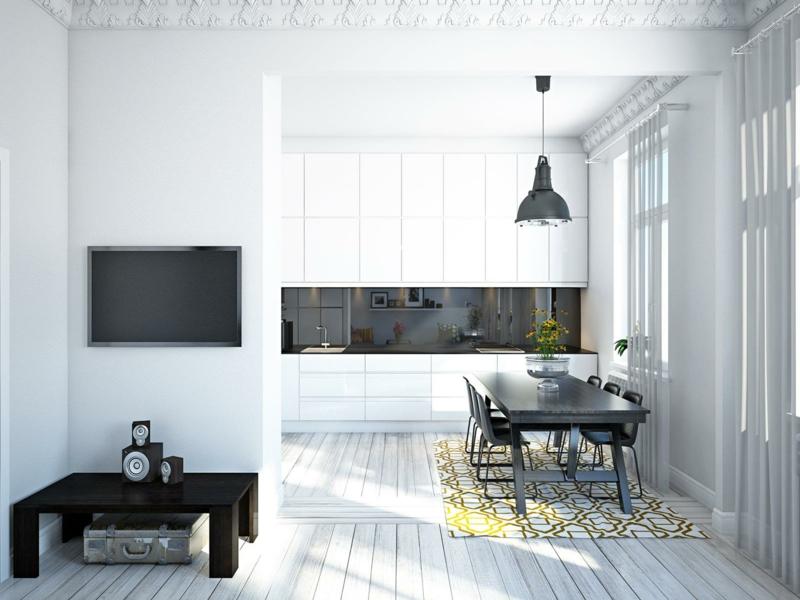 25 ideen für moderne wandfarben in weißtönen  deko