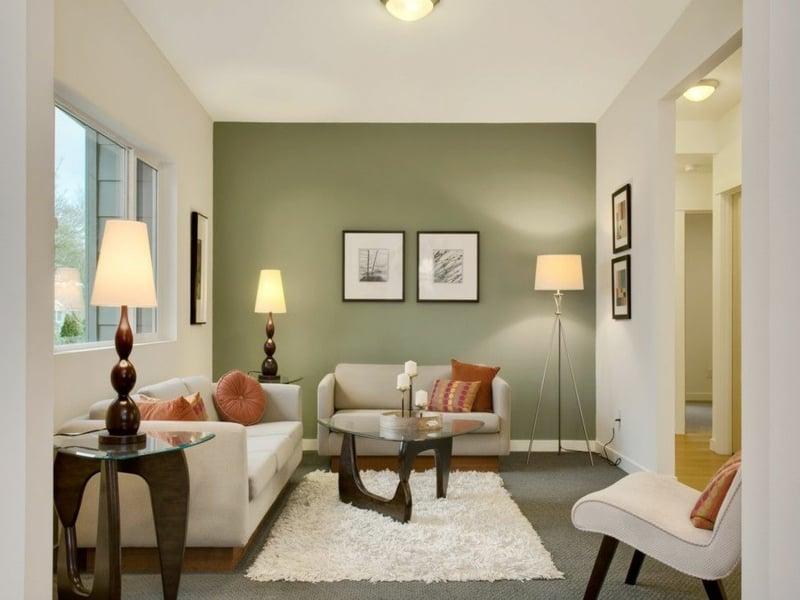 25 ideen für moderne wandfarben in weißtönen - deko & feiern, Wohnideen design