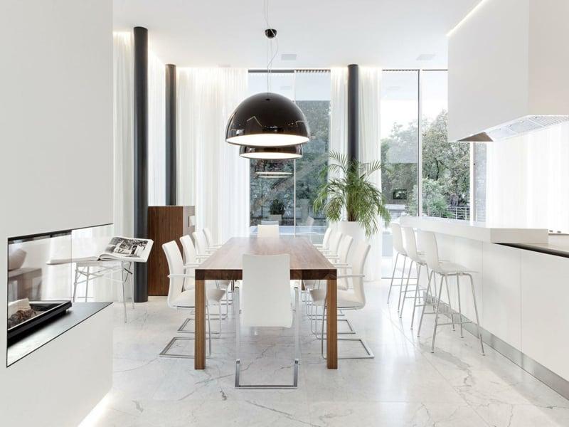 moderne Wandfarben und Küchendesign