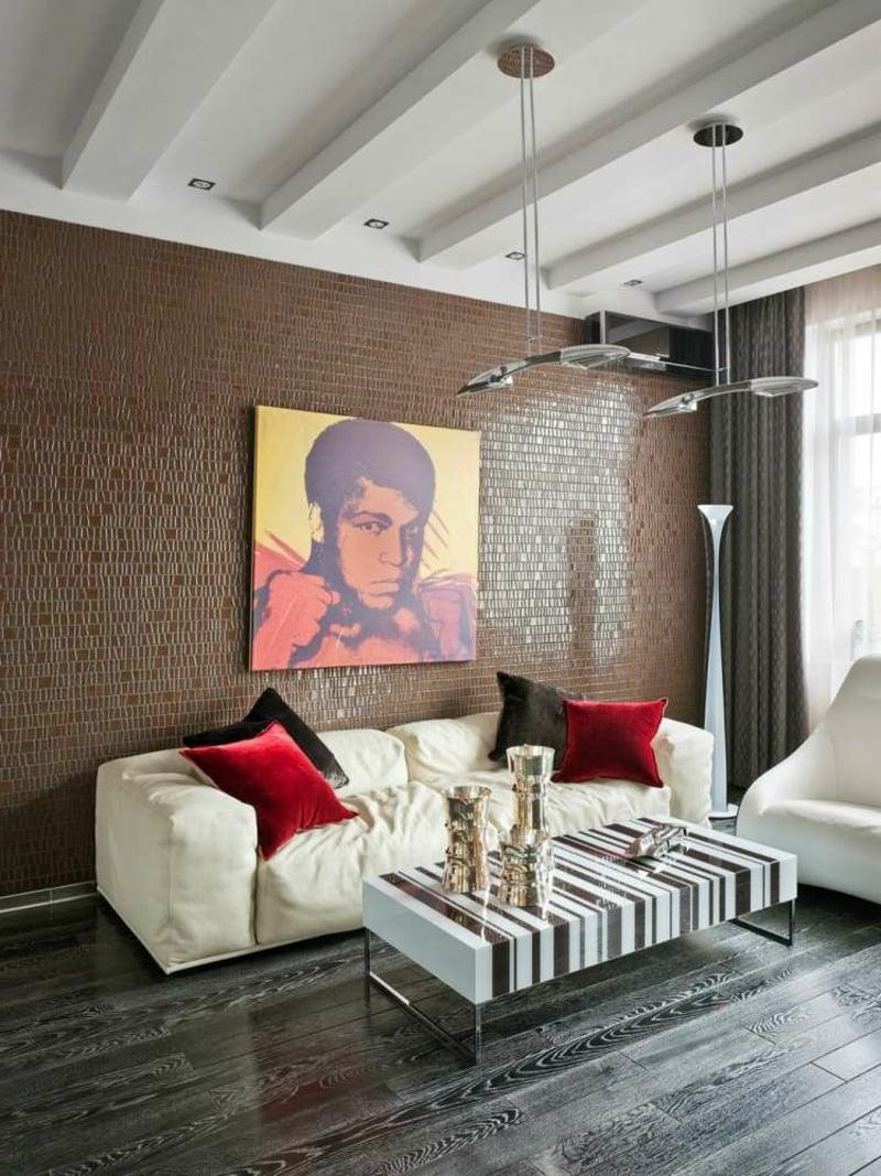 originelles Gemälde Wohnzimmer