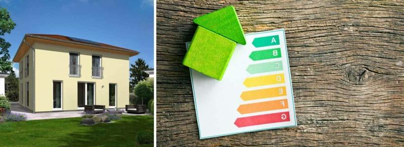 energiesparendes Passivhaus