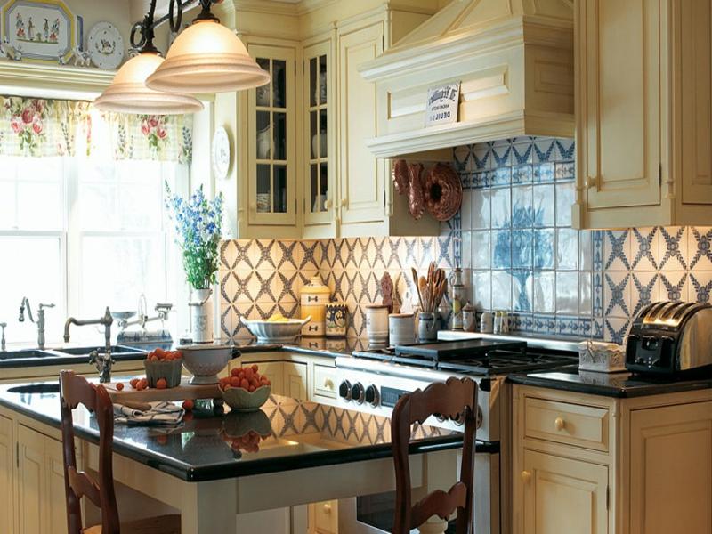 helle Pastellfarben in der Küche