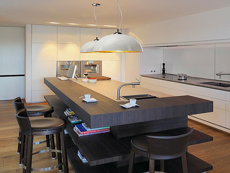 retrostil in der küchenbeleuchtung