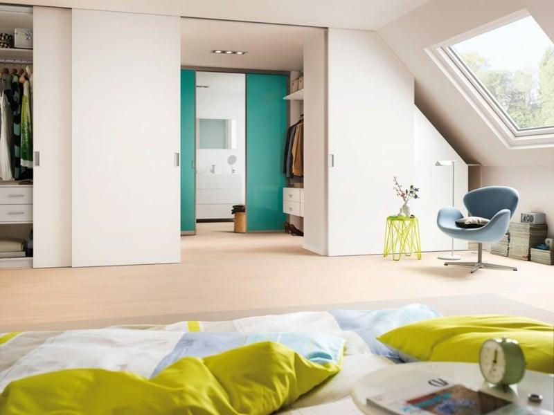 Schrank Dachschräge - praktische Lösungen - Innendesign, Möbel ...