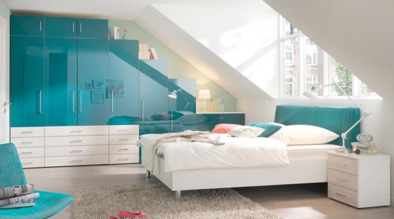 schrank dachschräge schlafzimmer ideen