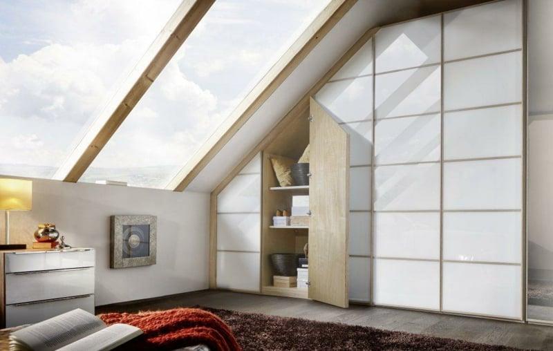 Einbauschränke Dachschräge schrank dachschräge praktische lösungen innendesign möbel