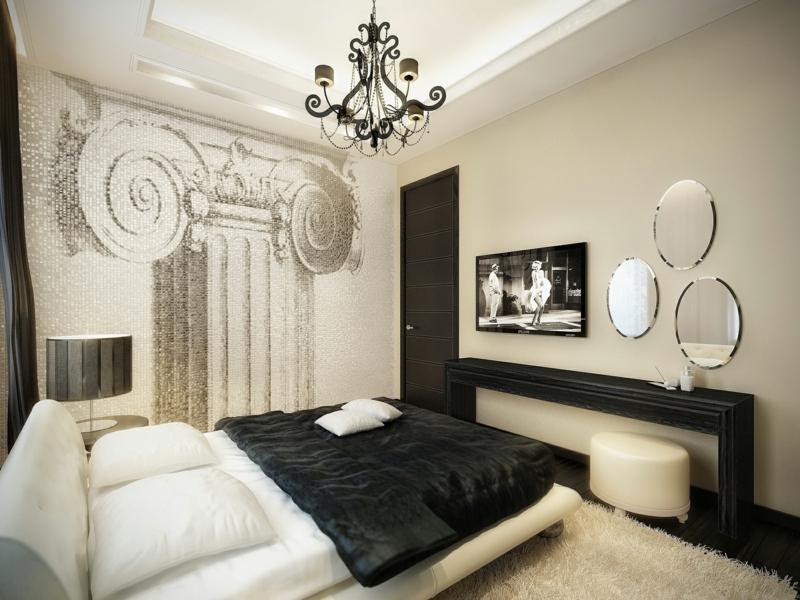 vitage schlafzimmer in klassischen farben