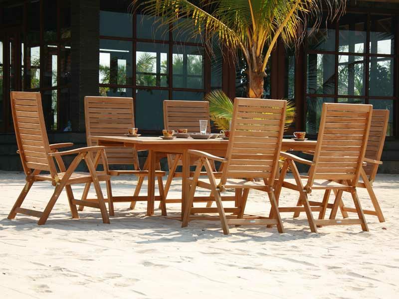 Teakholzmöbel  Teakholzmöbel - sommerliche Outdoor-Ideen - Möbel - ZENIDEEN