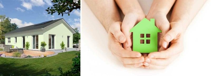 Umweltfrendlichkeit des Energiesparhauses