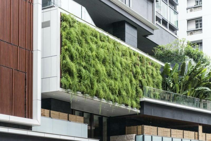 vertikaler garten Vertikaler Garten