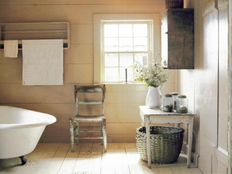 Badgestaltung im Vintage Stil