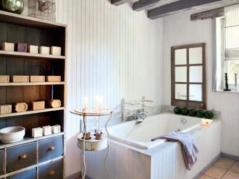 Badgestaltung im vintage stil for Beeindruckend badezimmer design badgestaltung