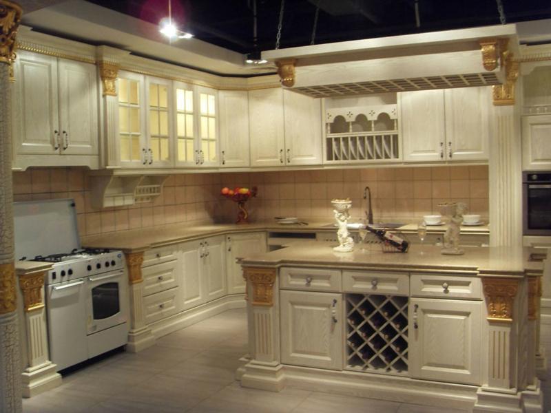 neue küche im vintage stil