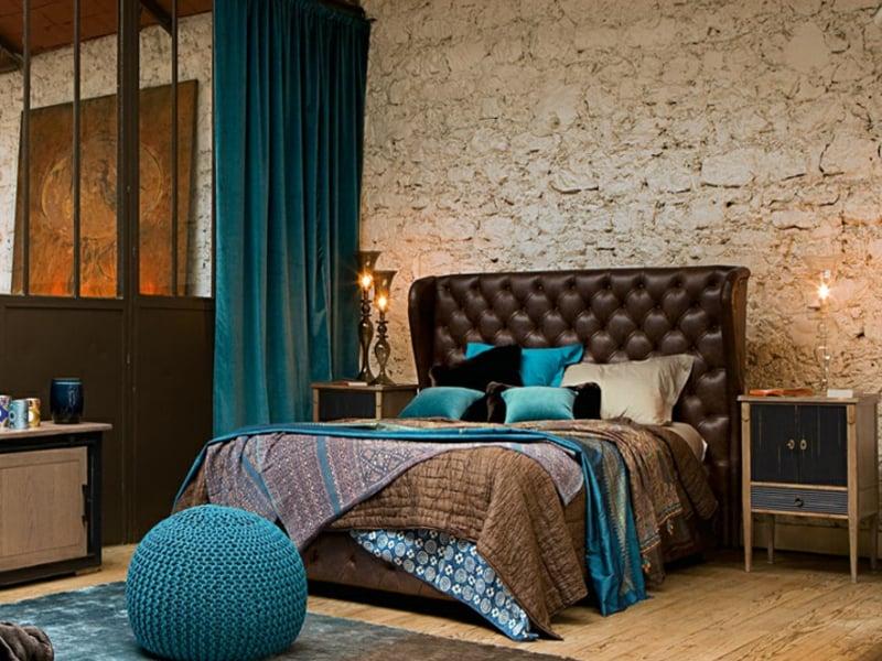 modern und vintage stil im schlafzimmer