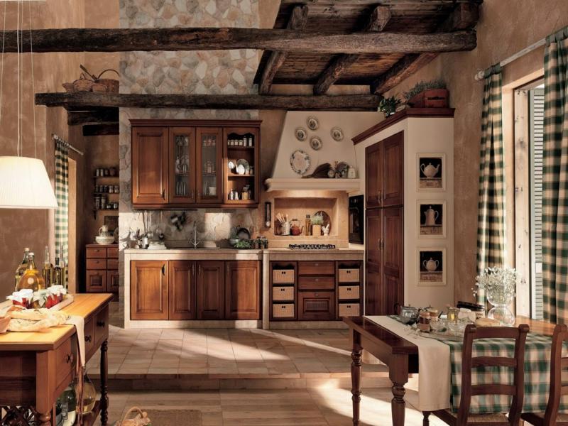 küche im vintage stil