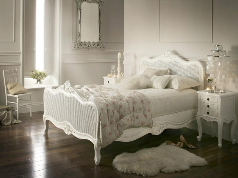 wohnungseinrichtungen in weiß für sclafzimmer