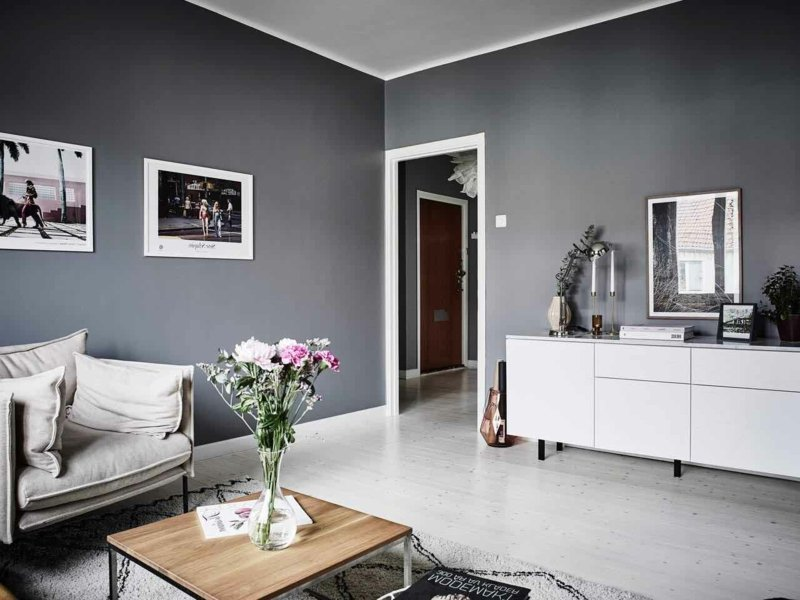 wohnzimmer inspiration in graunuancen innendesign wohnzimmer zenideen. Black Bedroom Furniture Sets. Home Design Ideas