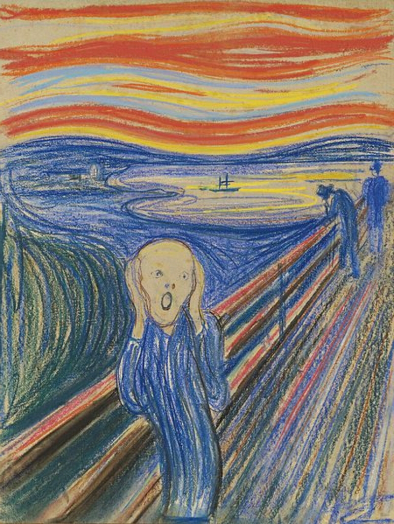 berühmte kunstwerke the scream