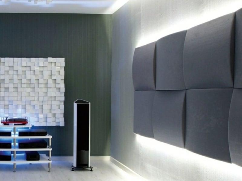 Akustikplatten im Grau