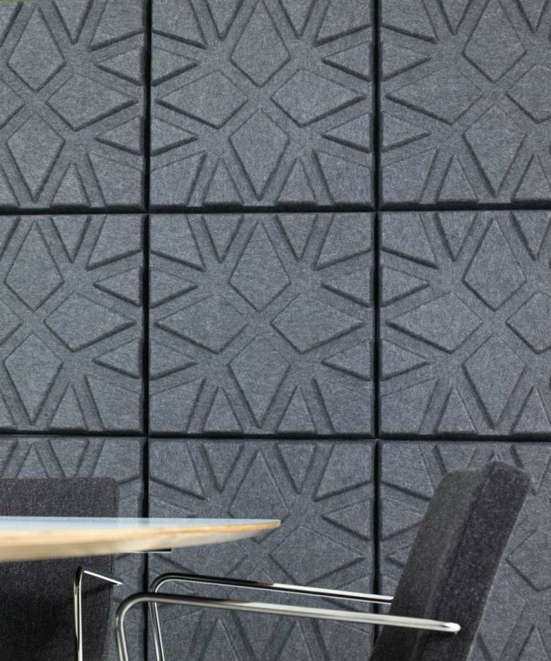 Akustikplatten moderne Wandverkleidung