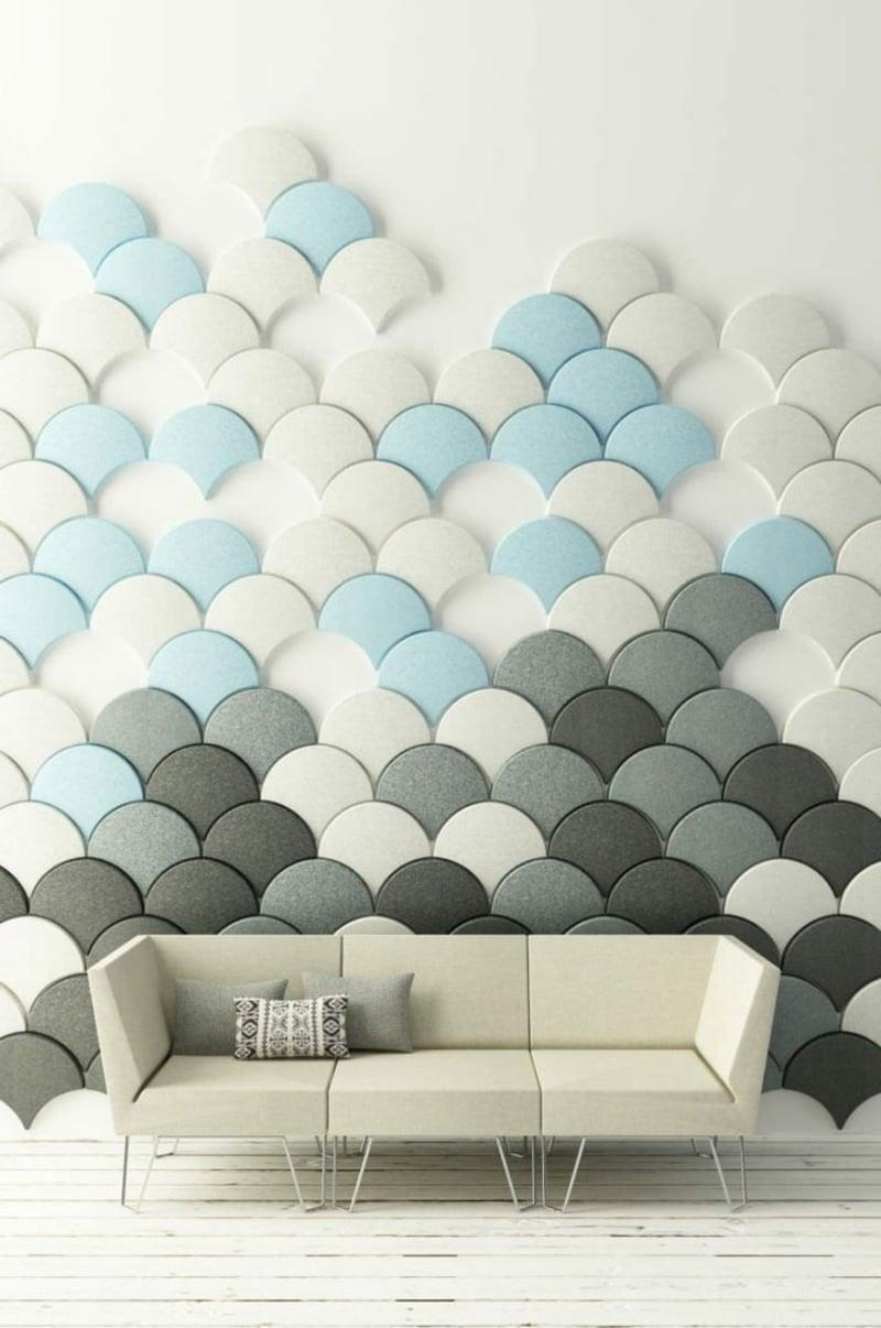 Akustikplatten Wandverkleidung