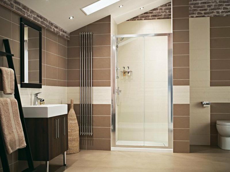 schönes interieur im bad