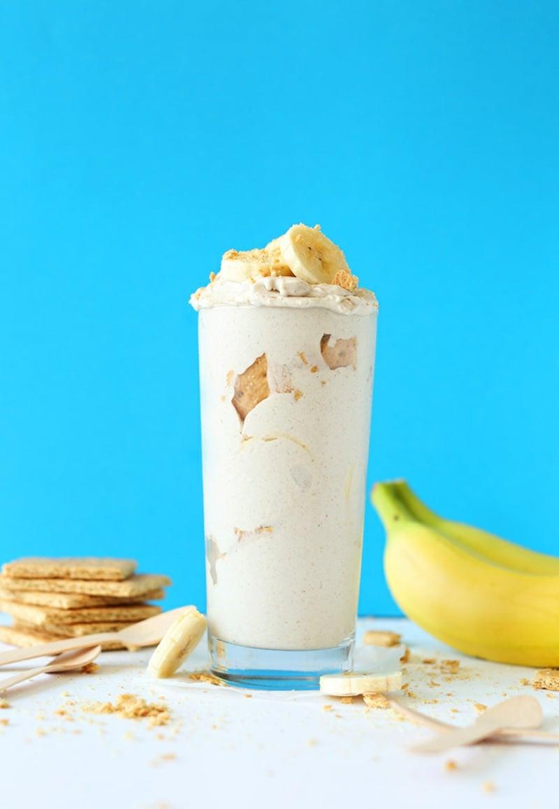Banana Cream Pie Blizzards vegane torten