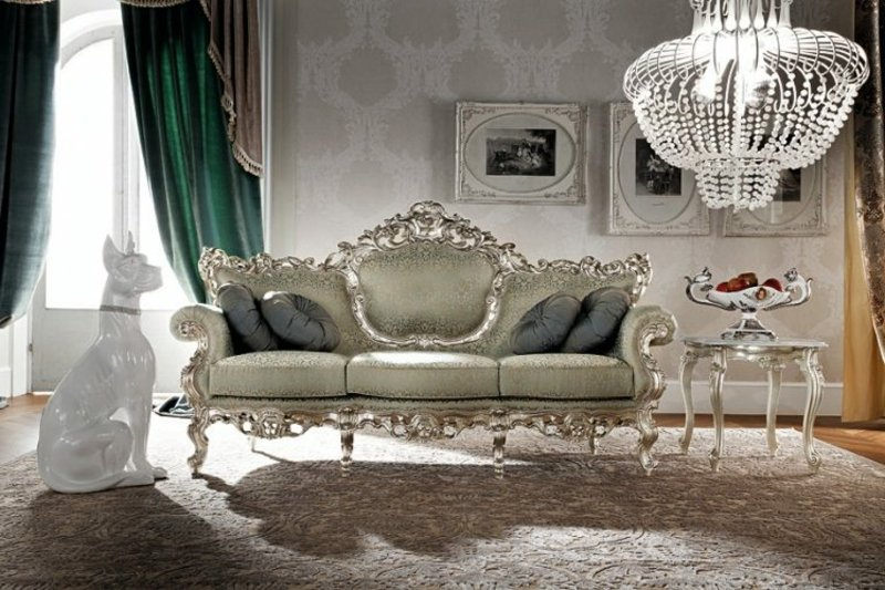 stilvolles Wohnzimmer Barock Möbel