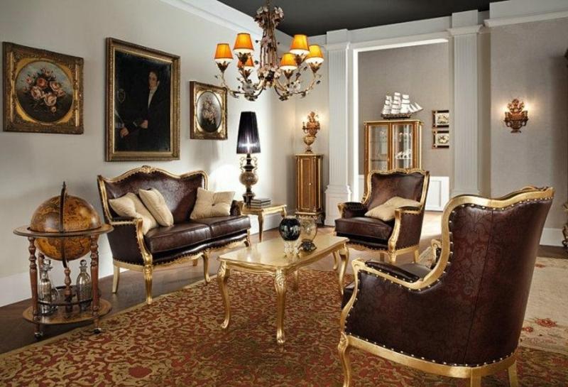 Barock Möbel für ein edles Look