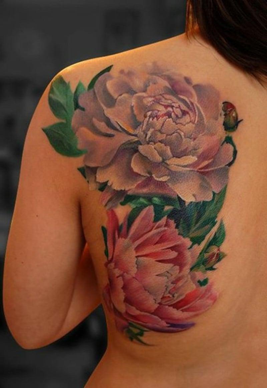3d tattoo blumen best with 3d tattoo blumen great das. Black Bedroom Furniture Sets. Home Design Ideas