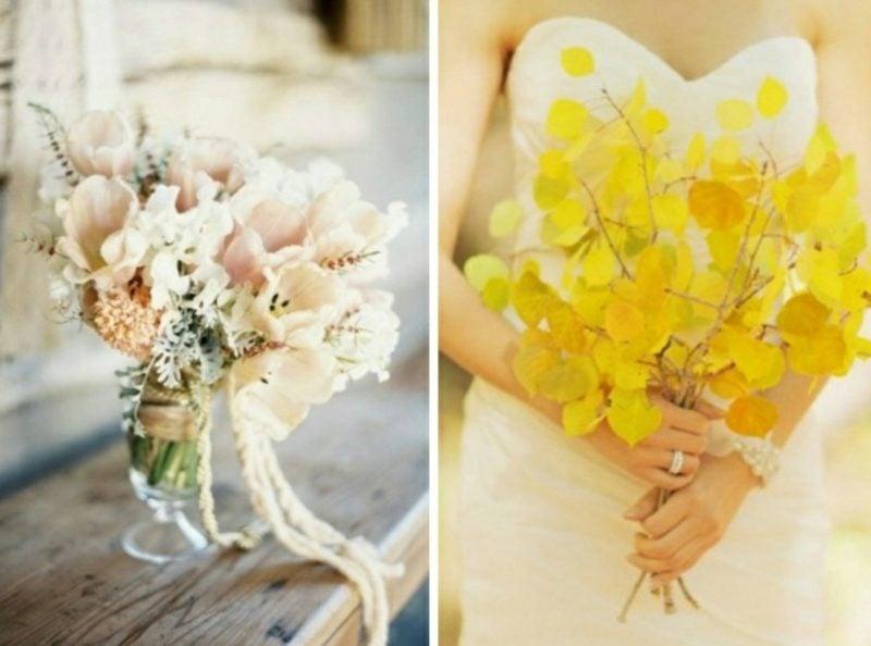 extravagenter Hochzeitsstrauß
