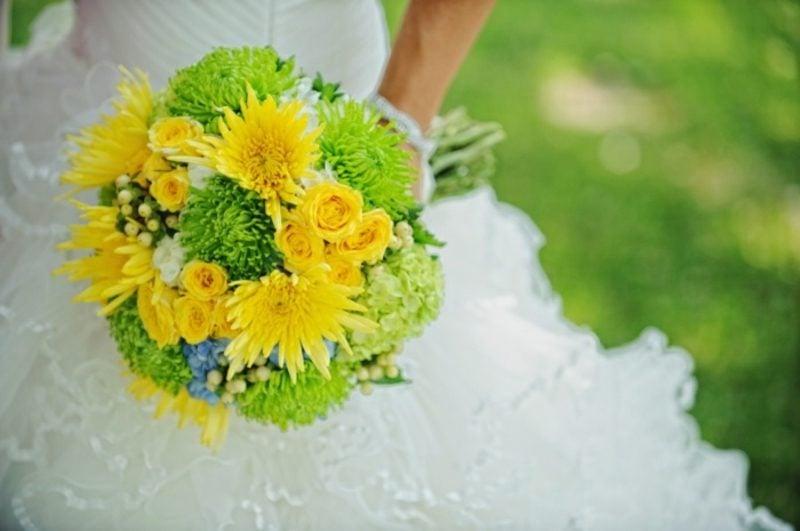Brautstrauß Sommerhochzeit