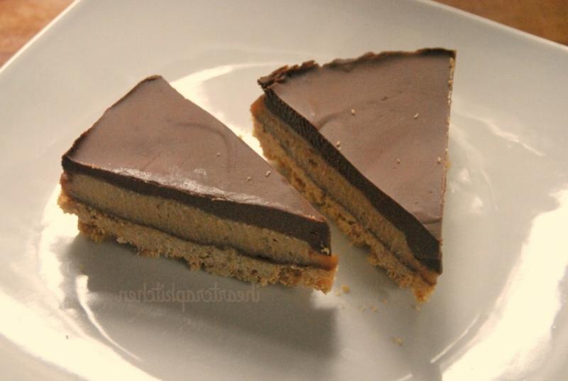 Chocolate Banana Peanut Butter vegane torten