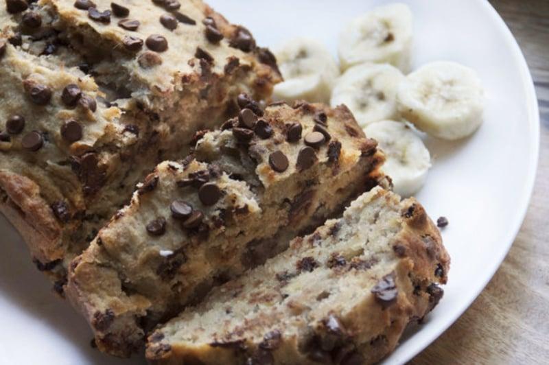 Chocolate Chip Banana Bread vegane torten