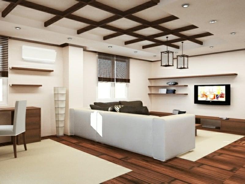 wohnzimmer deckenverkleidung wohnzimmer moderne. Black Bedroom Furniture Sets. Home Design Ideas