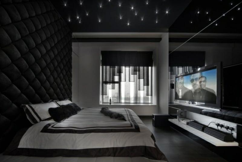 Deckengestaltung im Schlafzimmer