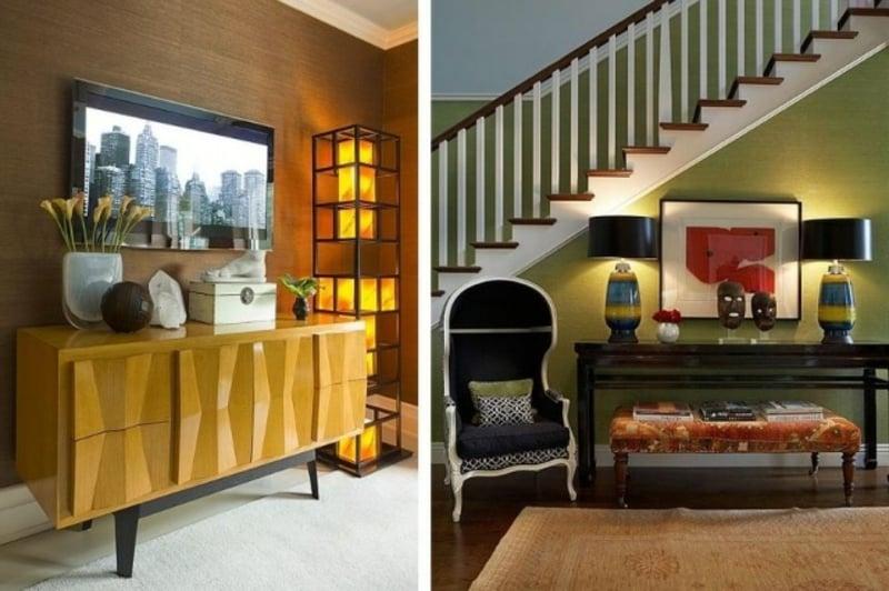 farbgestaltung im flur eingangsbereich, 40 ideen für kreative farbgestaltung im flur, Design ideen