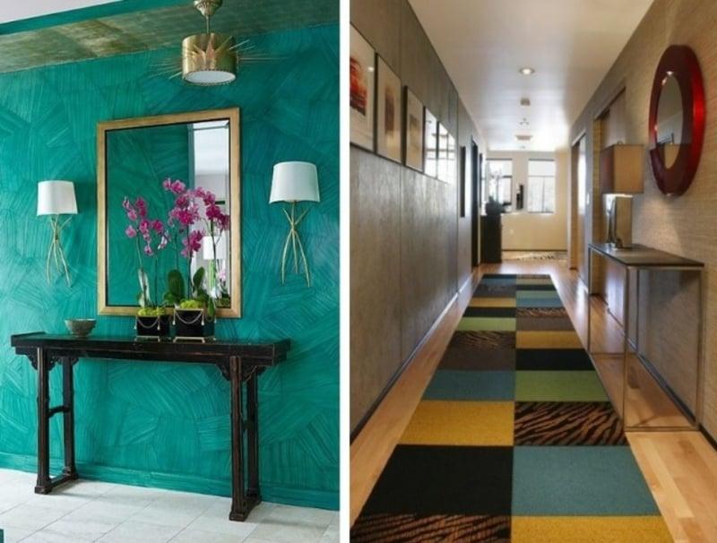 40 ideen für kreative farbgestaltung im flur - Flur Farbgestaltung